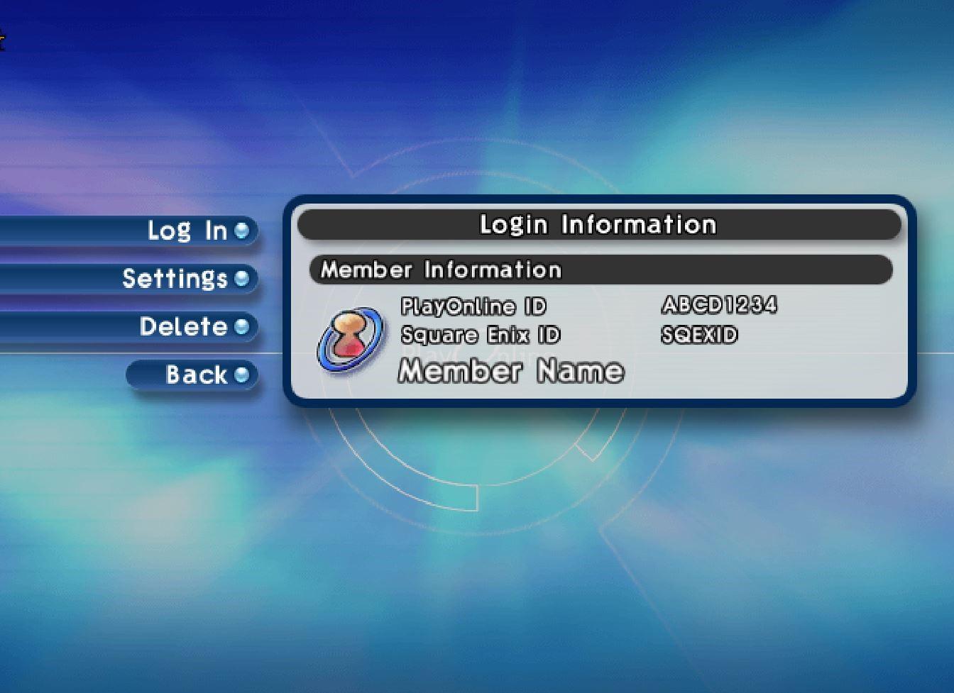 Lost ID - FFXI